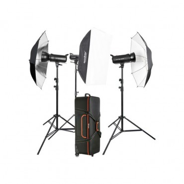 Godox Kit de Estudio 3 x SK400II