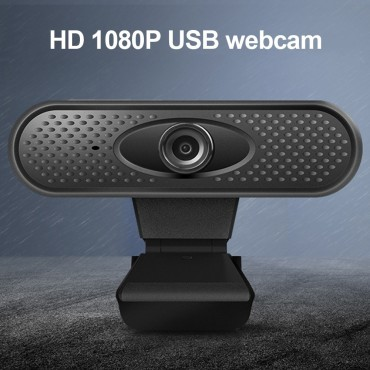 Accesorios Cámara web USB 1080P Full HD para PC