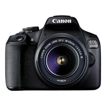 Camara Canon EOS  2000D 18-55mm IS II