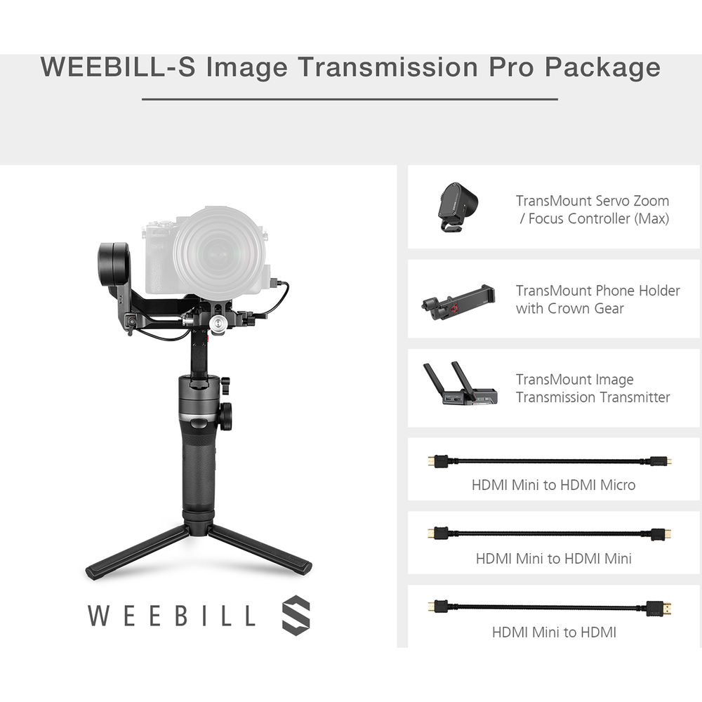 Estabilizador  Zhiyun Weebill-S Pro Package