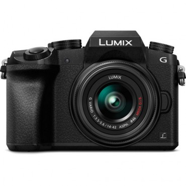 Panasonic Camara digital con objetivo intercambiable LUMIX DMC-G7