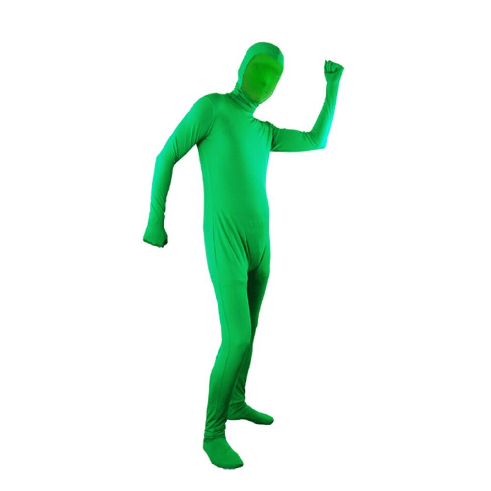 Accesorios Traje Chromakey Verde Cuerpo Entero