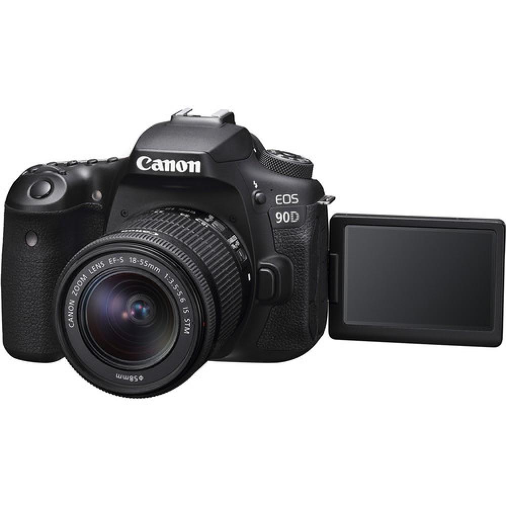 Camara Canon EOS  Kit 90D EF-S 18-55mm f 3.5 - 5.6 IS STM
