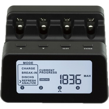 Powerex  MH-C9000 PRO Cargador y analizador profesional