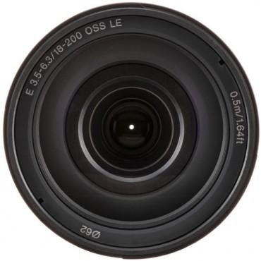 Lente Sony  E 18–200mm F3,5–6,3 OSS LE
