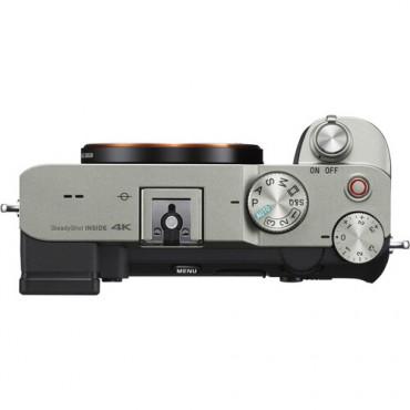 Sony Alpha A7 C Plateada