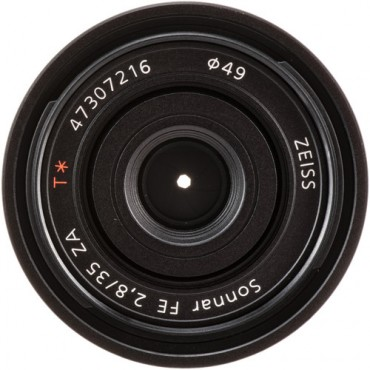 Lente Sony  Sonnar T* FE 35 mm F2,8 ZA