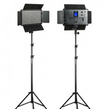 Viltrox VL-192T kit de 2 Luces LED 45W