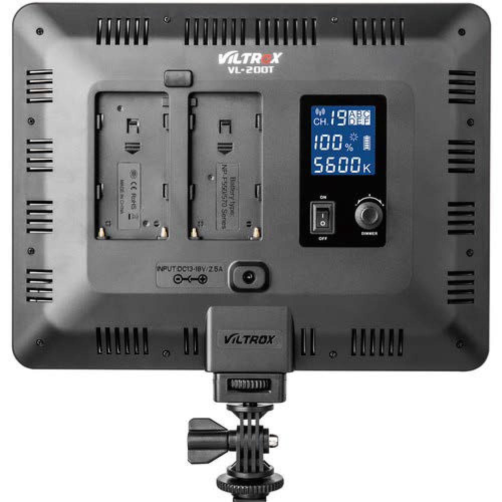 Viltrox VL-200T Kit 3 Luces LED 30W Dimmable
