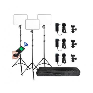 Viltrox VL-200T Kit 3 Luces LED 30W Dim