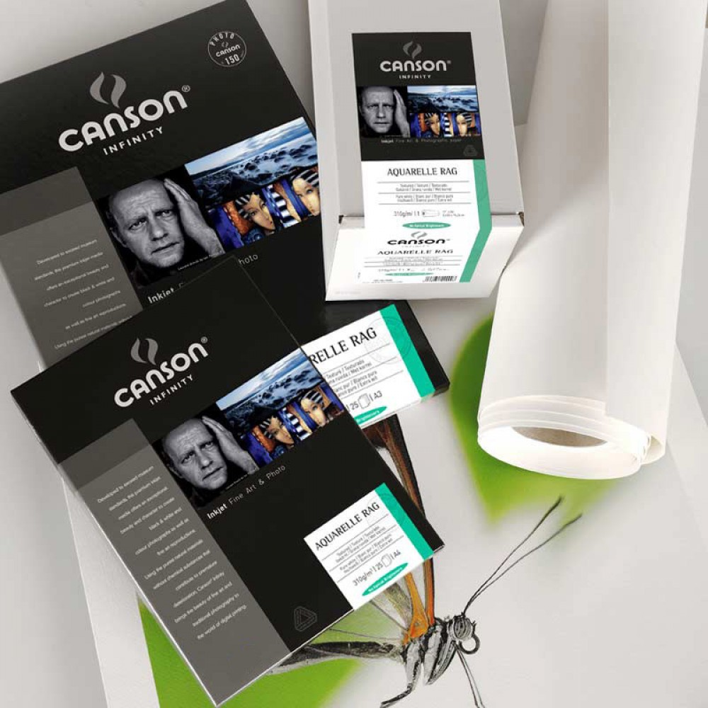 Canson Infinity Arches Aquerelle Rag 310 GR A4 25 HJS