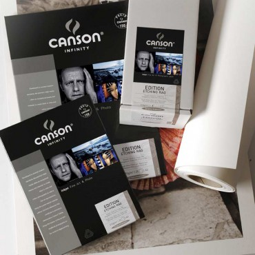 Canson Infinity Etching rag 310 GR 44 PULG X 15 M