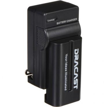 Dracast Batería para accesorios audiovisuales NP-2200 + cargador