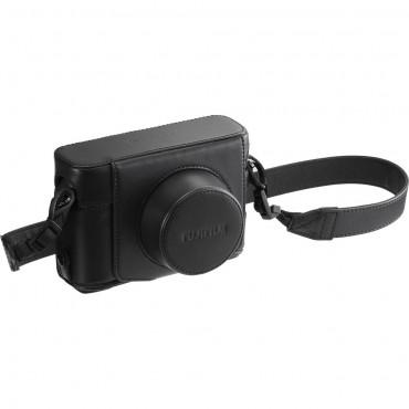 Fujifilm ESTUCHE 100F CUERO LC-X100F FUJI  NEGRO
