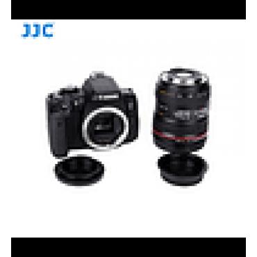 JJC Tapa camara y lente Canon EF