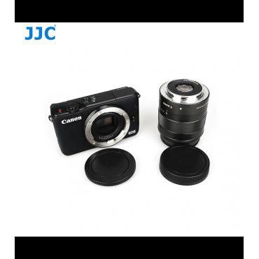 JJC Tapa camara y lente Canon EF-M