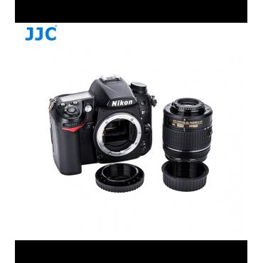 JJC Tapa camara y lente Nikon F (nuevo modelo)