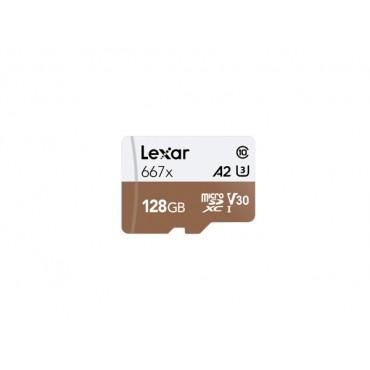 Tarjeta Memoria Lexar 128gb Micro SDXC UHS-II/667x V30 A2