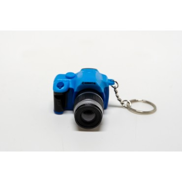 Llavero Rincon Fotografico  Azul