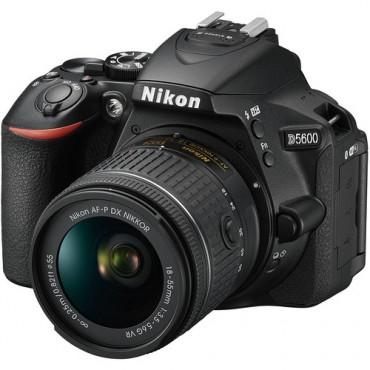 Camara Nikon D5600 Kit  AF-P 18-55 VR