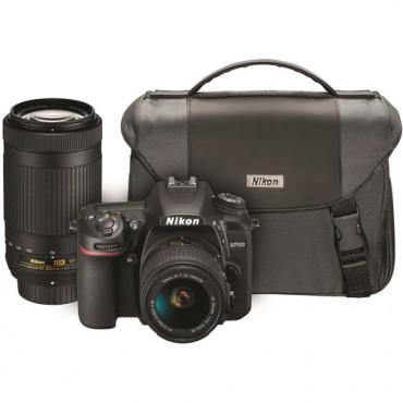 Camara Nikon  D7500 Kit VR 18-55mm y 70-300mm