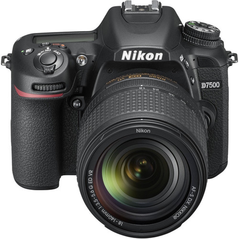 Camara Nikon  D7500 Kit 18-140mm VR