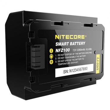 NITECORE Bateria Reemplazo Sony NFZ100 con Bluetooth