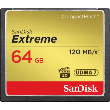 Sandisk CF extreme  64GB