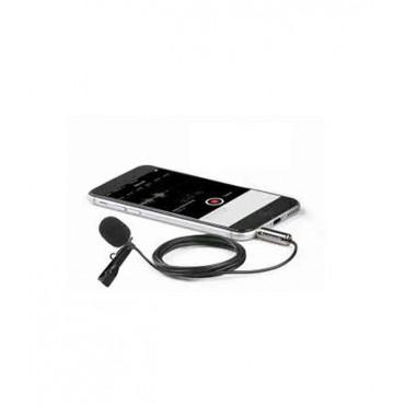 Saramonic Micrófono Lavalier Para IOS Y Dispositivos Android SR-LMX1