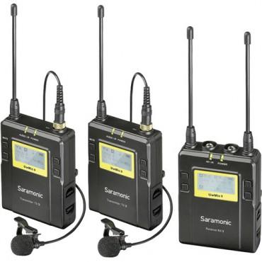 Saramonic Microfono inalambrico UwMic9 / 2 TX9 + RX9