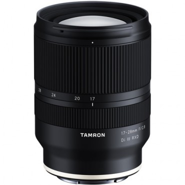 Tamron 17-28mm. F/2,8 Di III para Sony Mirrorless con parasol