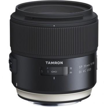 Lente Tamron SP 35mm F/1.4 Di VC USD con Parasol Nikon
