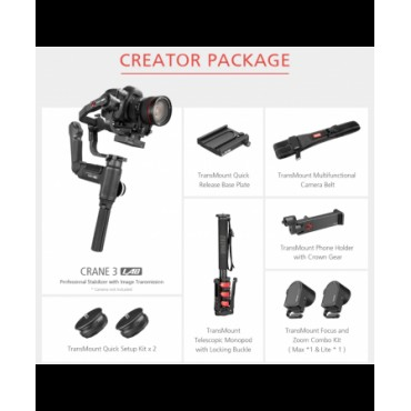 Estabilizador  Zhiyun Crane 3 LAB Creator Package