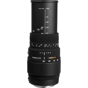 Sigma 70-300mm f/4-5.6 DG macro Montura Nikon