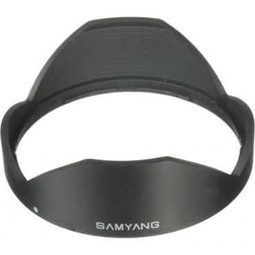 Lente Fisheye Samyang 8mm f/3.5 versión con parasol removible Nikon confirmación de enfoque