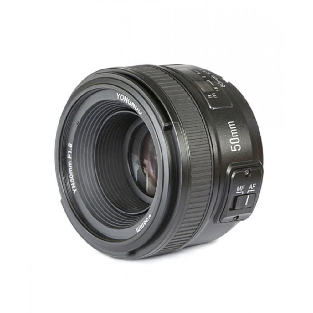 Lente Yongnuo 50mm f/1.8 F Nikon