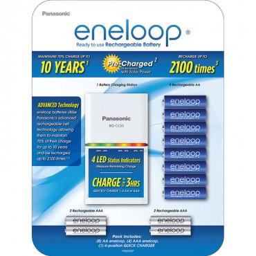 Pilas Eneloop Recargables Kit CC55