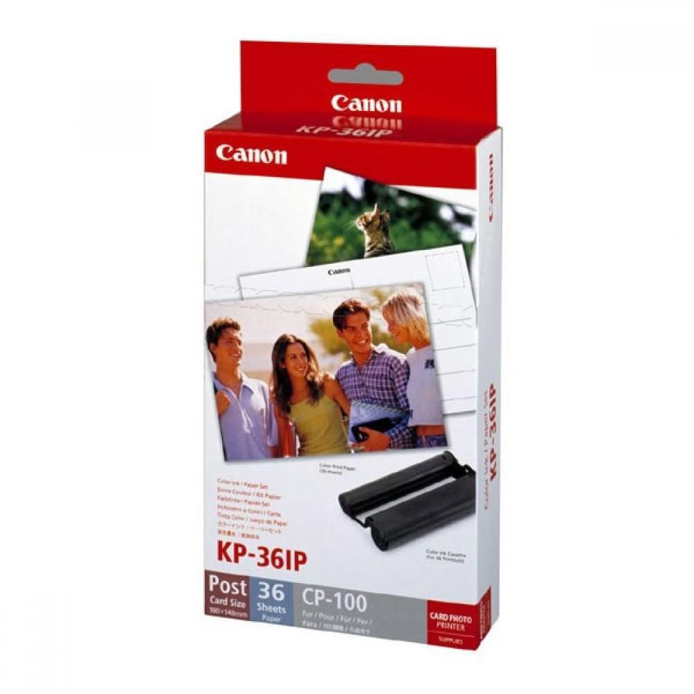 Canon Set de Tinta y Papel KP-36IP