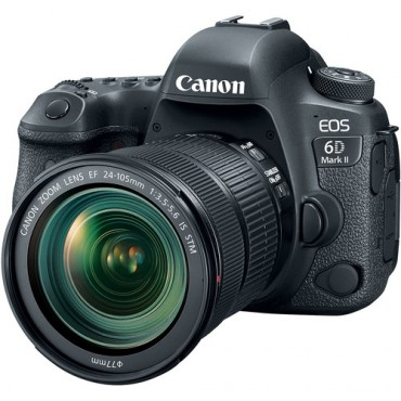 Camara Canon 6D Mark II Kit 24-105mm IS STM