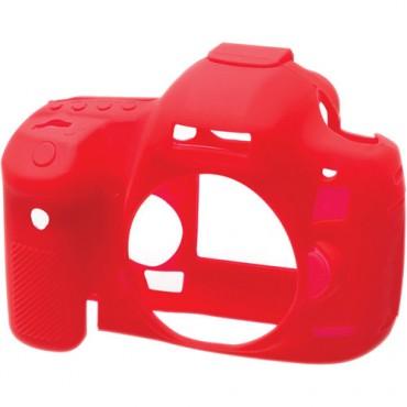Funda Silicona Easy cover Canon 5D Mark III Roja