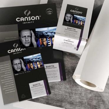 Canson Infinity Baryta Prestige 340 GR A3+ 25 Hojas