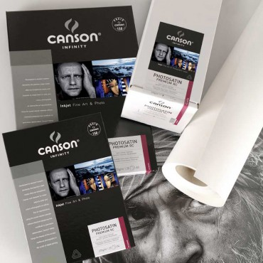 Canson Infinity Photosatin Premium 270 GR A4 25 Hojas