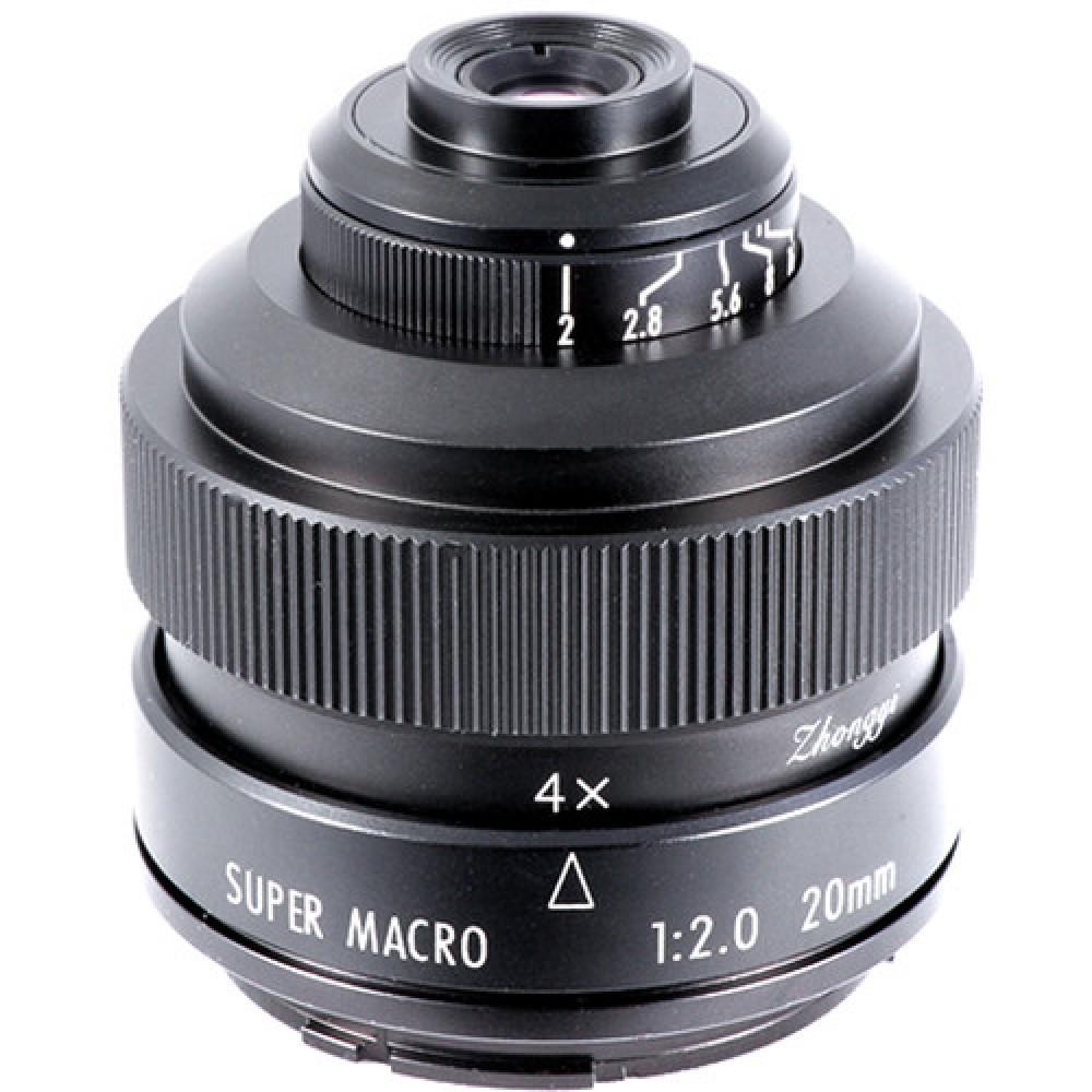 Mitakon Zhongyi  20mm f/2 4.5x Super Macro Canon