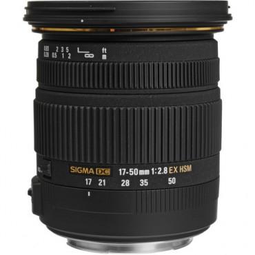 Sigma 17-50mm f/2.8 EX DC OS HSM - Canon