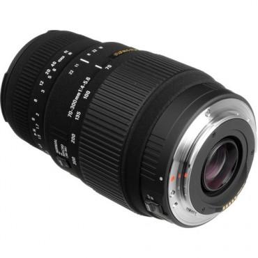 Sigma 70-300mm f/4-5.6 DG macro Montura Canon